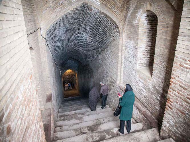 آب انبار تاریخی قزوین