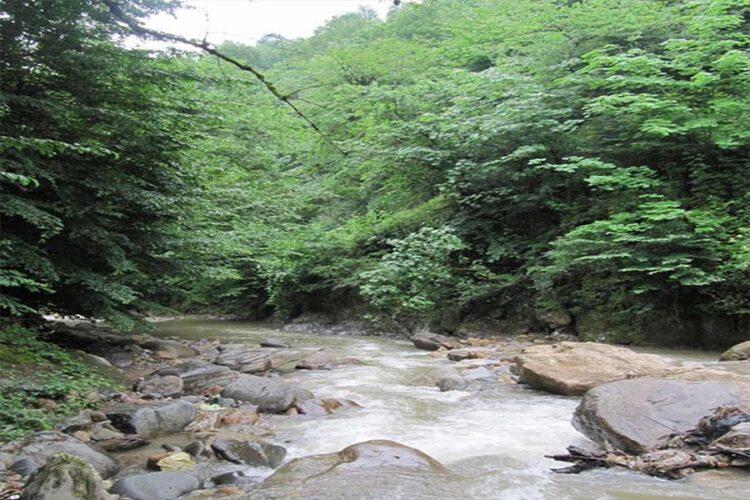 رودخانه های دیدنی صومعه سرا