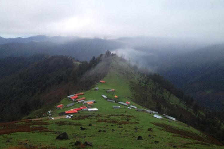جاذبه های گردشگری ماسال - روستای اولسبلنگاه