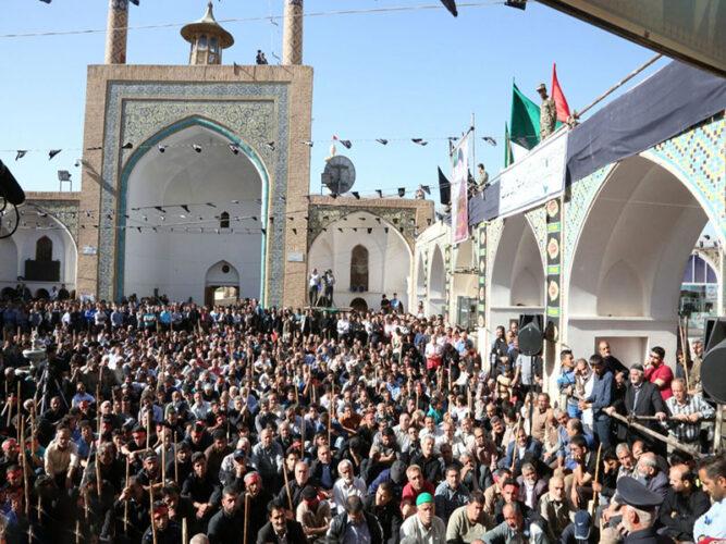 برگزاری مراسم محرم حسینی در مشهد