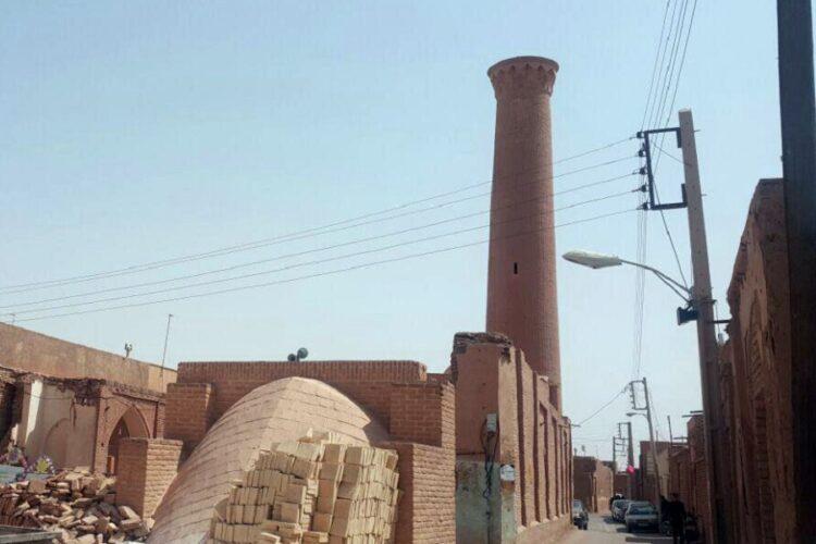مناره مسجد پامنار