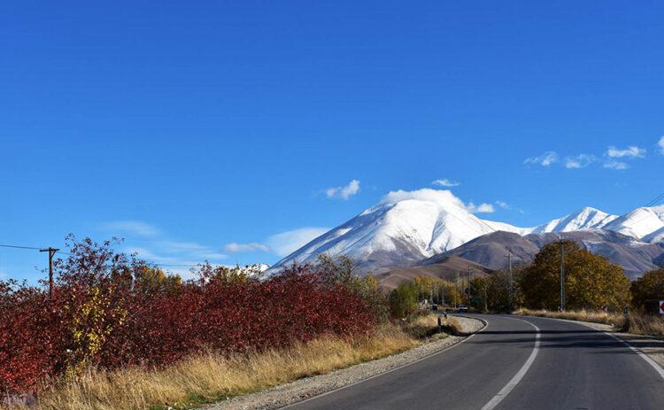 جاده ارس جلفا  از زیباترین جادههای کشور