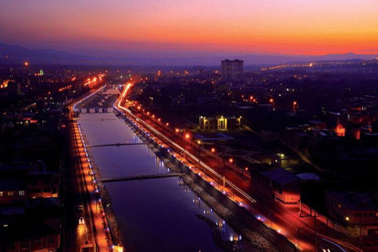 رودخانه صوفی چای، رودخانهای جاری در دل شهر