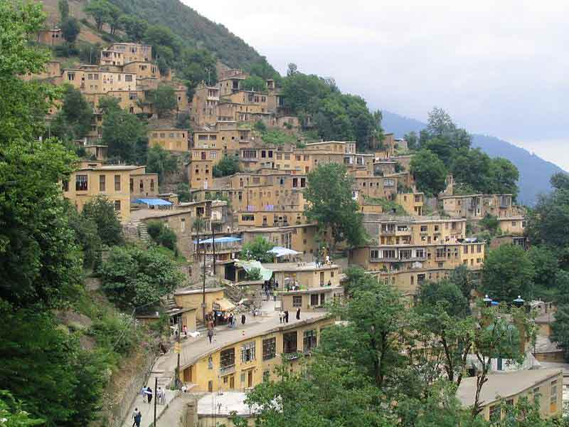ماسوله روستای پلکانی گیلان
