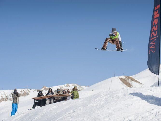 آلوارس دومین پیست اسکی استاندارد ایران
