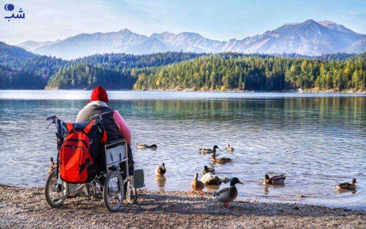هدف سفر معلولین