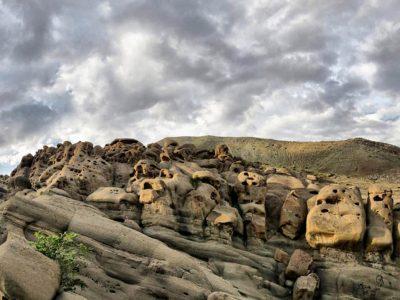 وردیج، روستای آدمکهای سنگی