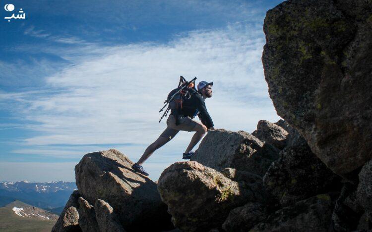 کوهنوردی و تمرین