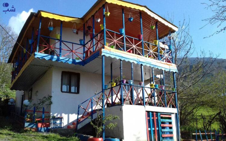 اقامتگاه های بوم گردی مازندران
