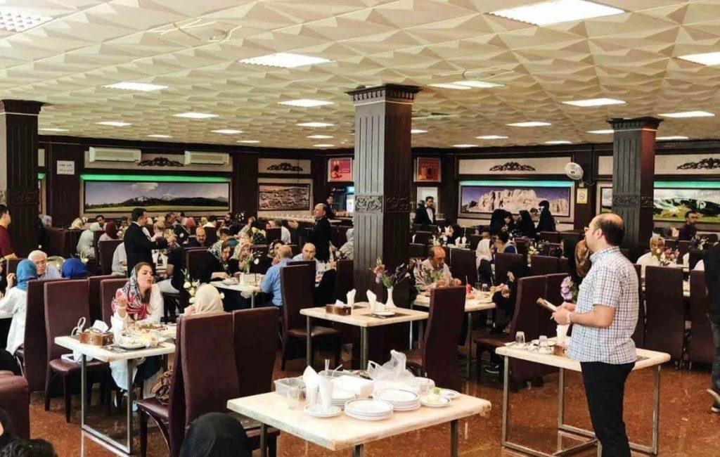 رستوران لوکس طلایی تهران